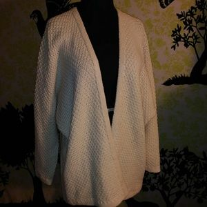 NWT FOREVER 21 Ivory Medium Crochet Sweater